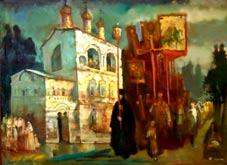 Крестный ход в Борисоглебском