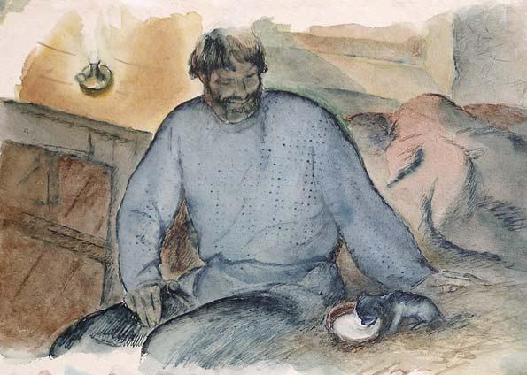 картинки к рассказу тургенева муму
